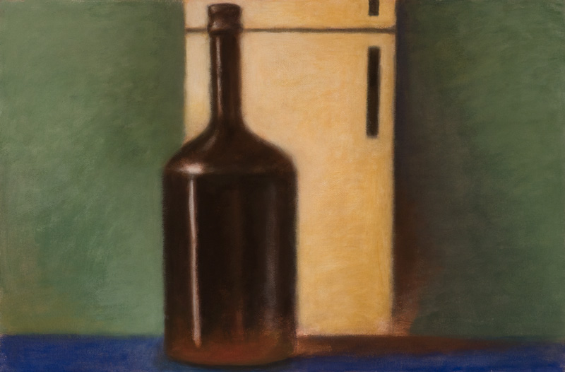 Bottle and Fridge