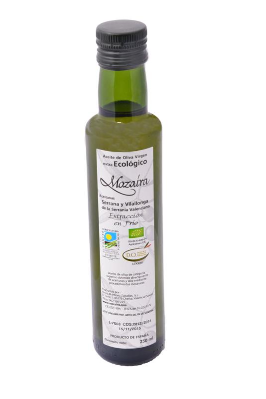 Aceites Mozaíra