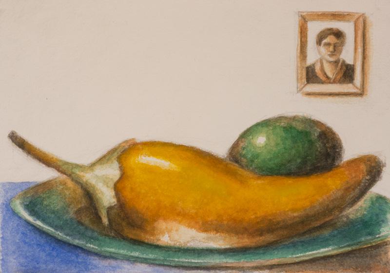 Pepper Olive Portrait
