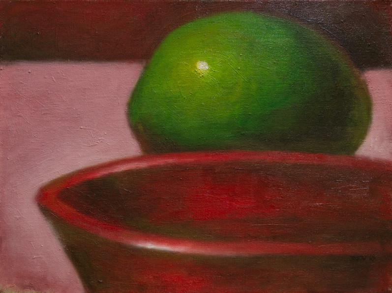 Red Bowl and Lime
