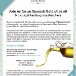 Spanish Gold Tasting at Iberica Canaray Wharf