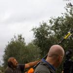 Zev Robinson filming Spanish Gold