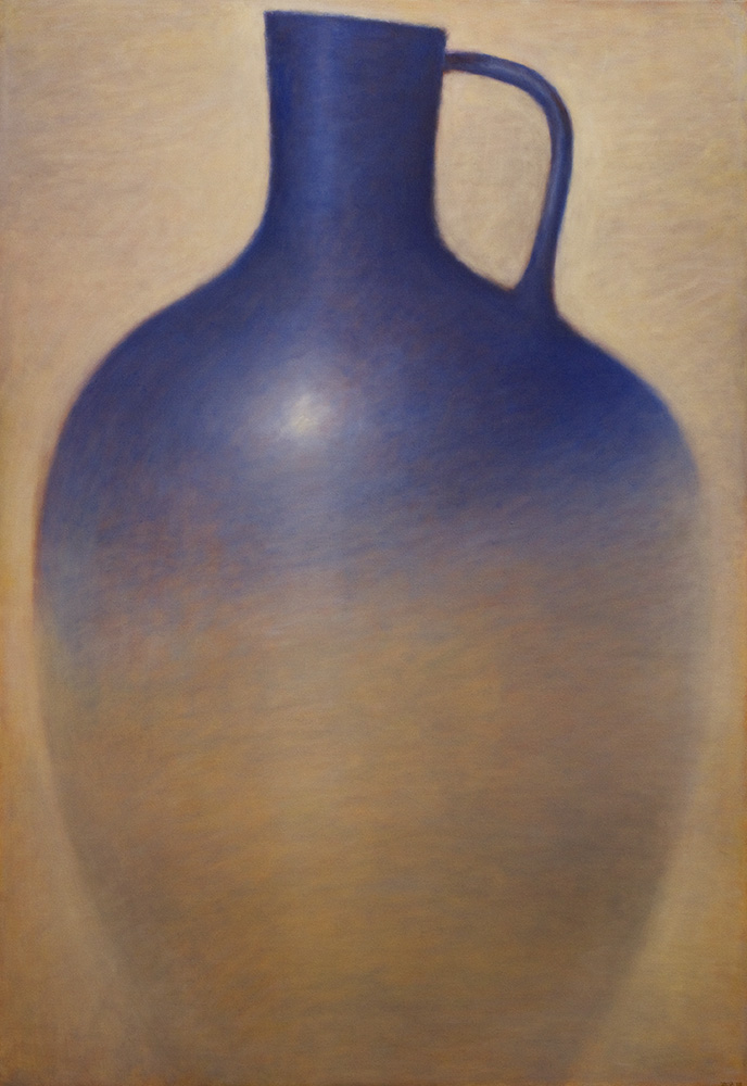 Large Blue Amphora