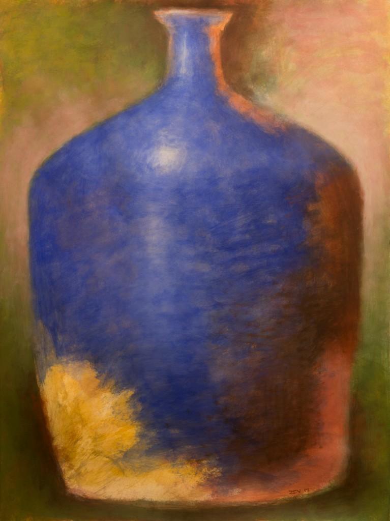 Blue Amphora 3, 2017