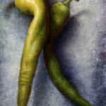 Two Green Chilies