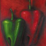 Two Poblando Chilies
