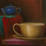 Cup, Red Chair, Teapot