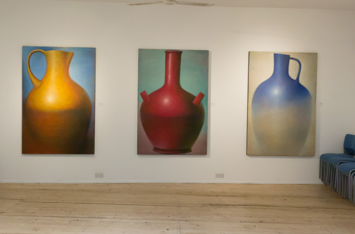 Three Large Amphora Paintings at Gallery Different, London