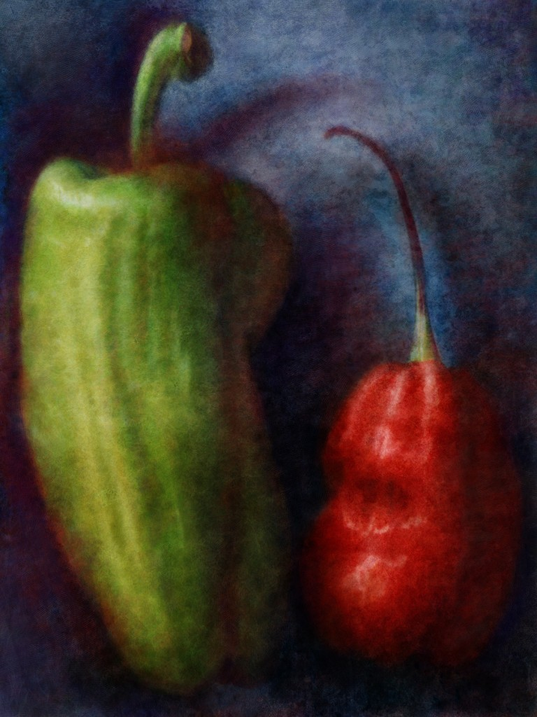 Red and Green Chiles 1