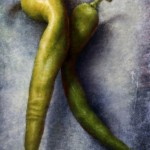 Two Green Chiles