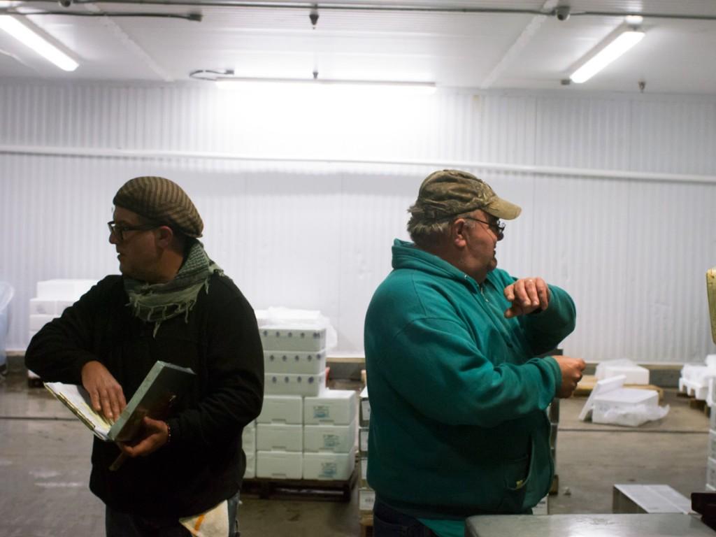 Mark Drabich and Fishmonger